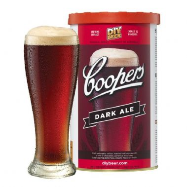 Coopers Original Dark Ale (Classic Old Dark Ale) 1.7kg Beer Kit